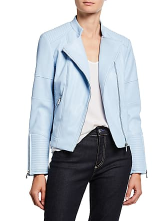 Iconic American Designer Quilted Moto Jacket