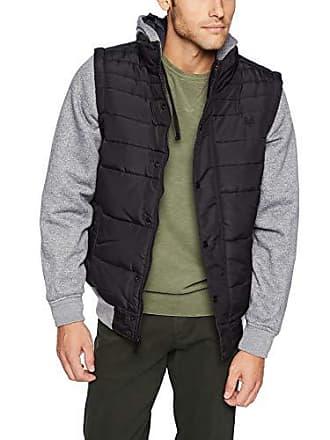 Zoo York Mens Hooded Jacket, Black, Large