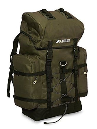 Everest Hiking Pack, Olive/Black