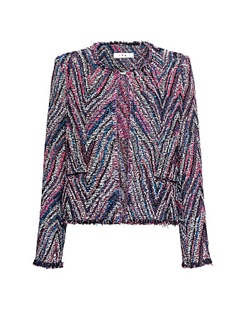 Iro Rainbow Multi Tweed Blazer Candy Multi