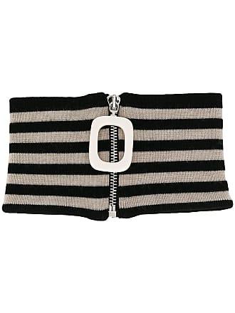 J.W.Anderson zipped scarf - Preto