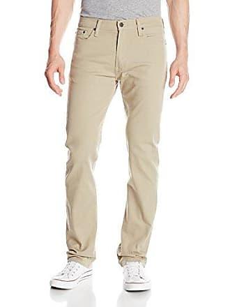 Levi's Mens 513 Stretch Slim Straight Jean, True Chino - Bull Denim, 40Wx30L
