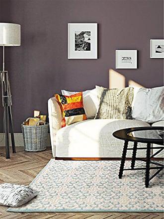 Benuta Teppich Topaz Türkis 77x150 Cm   Moderner Teppich Für Wohn  Und  Schlafzimmer