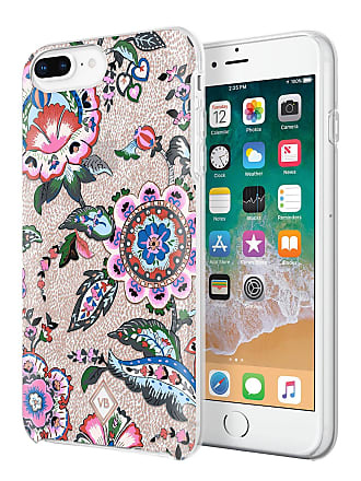 Vera Bradley Stitched Flowers Flexible Frame iPhone 8/7/6/6s Plus Case