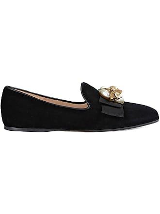 0df4b3674095 Gucci Velvet ballet flat with bee - Black