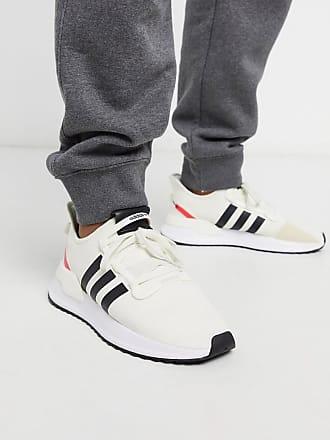 adidas Originals U-Path - Weiße Lauf-Sneaker