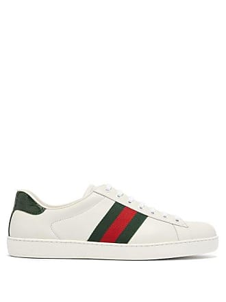 ef83ac314 Gucci Leather Sneakers for Men: 236 Items | Stylight