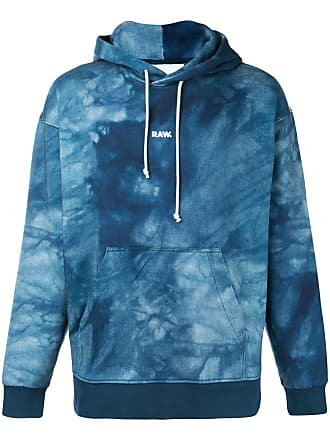 G-Star Raw Research Jaden Smith Collab logo print hoodie - Blue