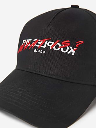 The Kooples Black cotton cap with logo, The Kooples - MEN