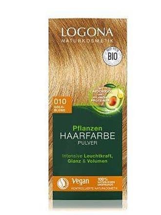 Logona Pflanzen Pulver Goldblond Haarfarbe 100 g