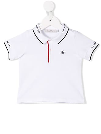 men s dior clothing shop now up to 65 stylight 1970s Fashion Trends dior baby logo embroidered polo shirt white