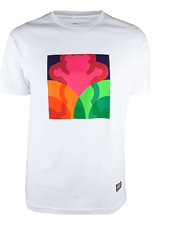 Grizzly Camiseta Grizzly Prism - Branco-GG