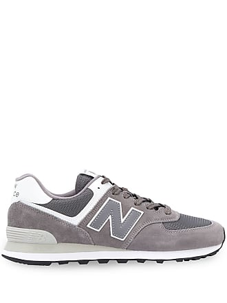 buy cheap 2ec3e 0296a New Balance logo lace-up sneakers - Grey