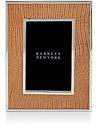 Barneys New York Lizard-Stamped Leather 5 x 7 Picture Frame