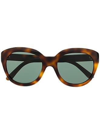 Celine Óculos de sol redondo - Marrom