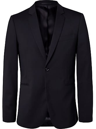 Paul Smith Navy Slim-fit Unstructured Stretch-wool Blazer - Navy