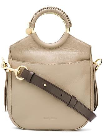 See By Chloé sac à main en cuir - Gris 6a48dcca23e