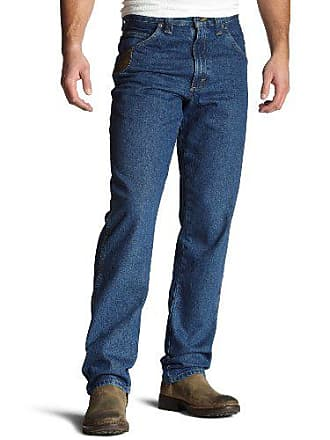 Wrangler Riggs Workwear By Wrangler Mens Big & Tall Relaxed Fit Jean,Antique Indigo,48x30