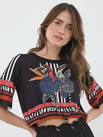 Triton Camiseta Triton Estampada Preta