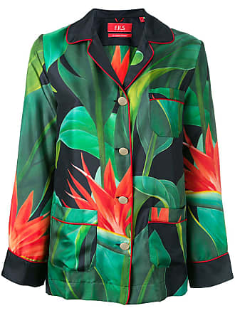 F.R.S. For Restless Sleepers flower print shirt - Green