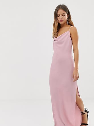 New Look maxi dress with cowl neck in lilac - Purple