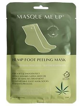 Masque Me Up Pflege Körperpflege Hemp Foot Peeling Mask Green 1 Stk