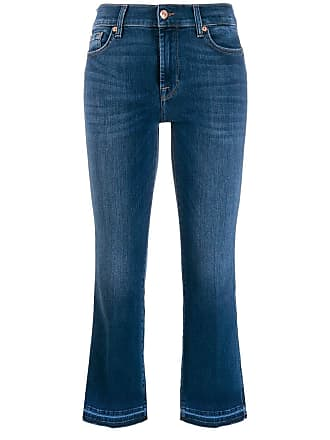 7 For All Mankind cropped jeans - Azul