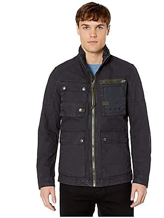 G-Star Grizzer Field Overshirt (Dark Navy) Mens Clothing