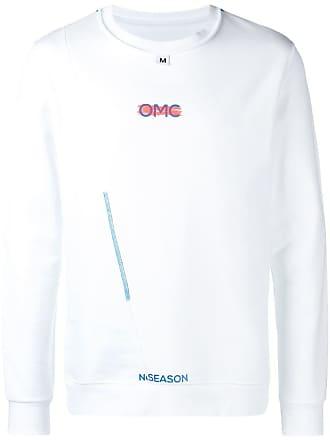 Omc Moletom com logo - Branco