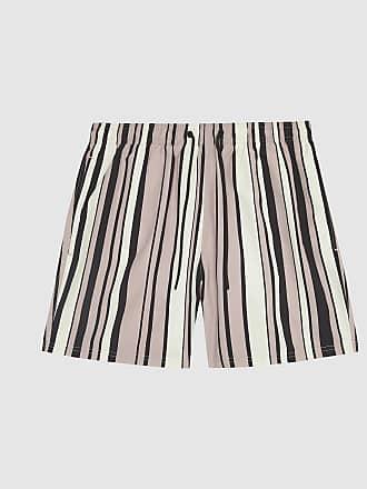 df436c48b7 Reiss Ace - Striped Swim Shorts in Pink, Mens, Size XXL