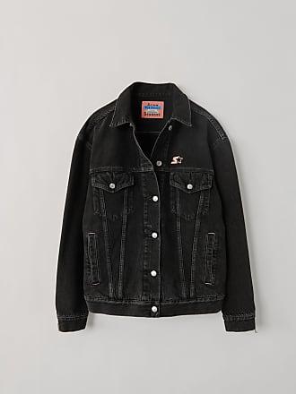 Acne Studios Acne Studios 1998 Logo Used Black Metal Used black Denim jacket