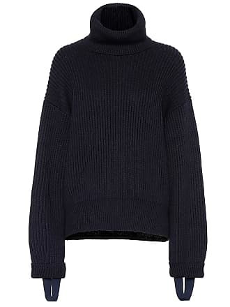 Helmut Lang Wool and cotton turtleneck sweater