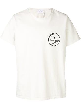 Rhude Camiseta com estampa de logo - Branco