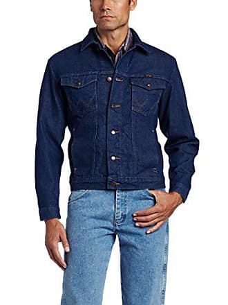 Wrangler Mens Unlined Denim Jacket, Denim, Medium
