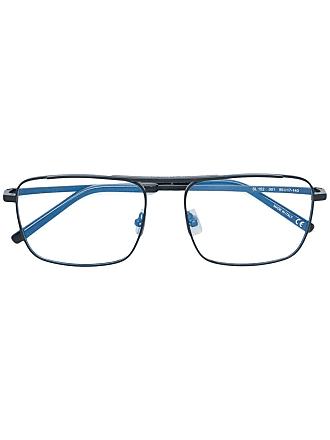 Saint Laurent Eyewear Armação de óculos retangular - Preto