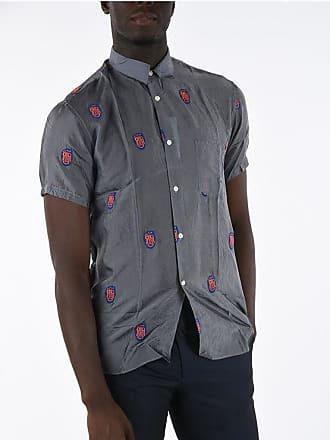 Comme Des Garçons SHIRT Embroidered Short Sleeve Shirt Größe S