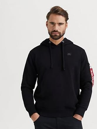 Alpha Industries HUVTRÖJA X-fit Hoody Svart