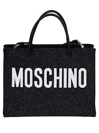 783583b513 Moschino WOMENS 7A746480082555 BLACK PVC SHOULDER BAG