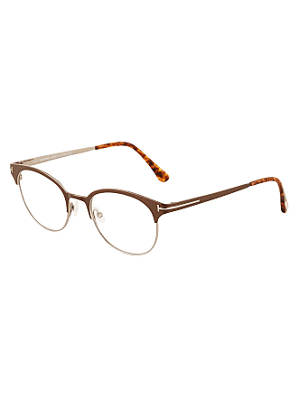 Tom Ford Metal Brow-Line Optical Glasses