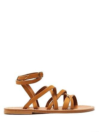 12ad17fe5f4 K.Jacques K.jacques - Aphrodite Leather Sandals - Womens - Tan