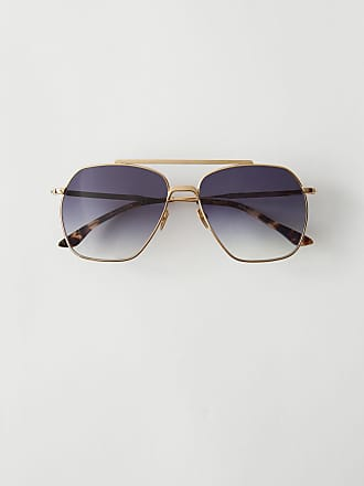 Acne Studios Anteom Gold/black degrade Metal frame sunglasses