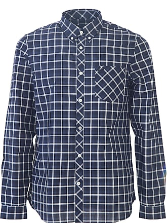 0199d74f Fred Perry Shirt for Men On Sale, Ice Grey, Cotton, 2017, L M