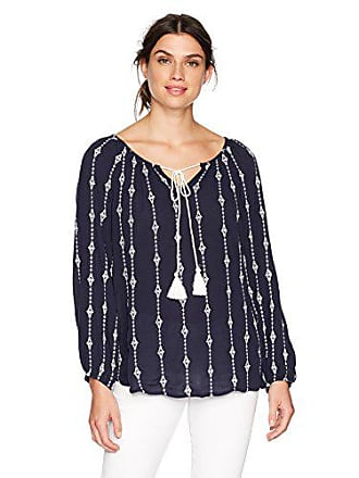 Vero Moda Womens Juliana Midi Top, Navy Blazer Small