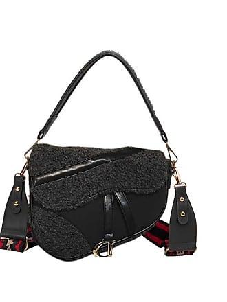fdded403bd44 Jessica Buurman MUNDA IT Saddle Handbag With Long Shoulder Strap - Large