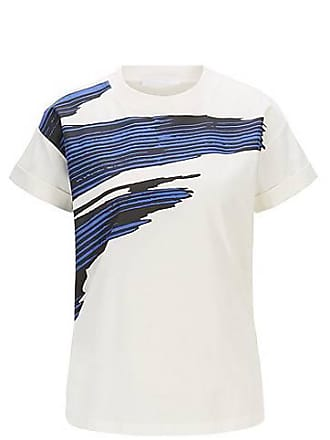 a0fec8ae2 BOSS Relaxed-fit T-shirt in mercerised cotton with 3D print