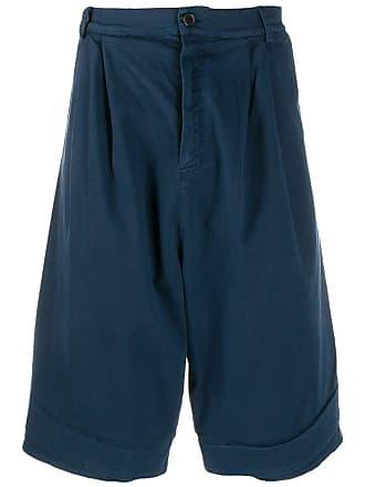 Henrik Vibskov Bermuda jeans - Azul