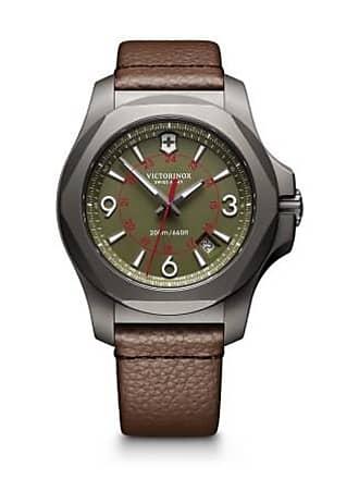 Victorinox by Swiss Army Swiss Army V241779 I.N.O.X. Titanium Mens Watch Brown 43mm Sandblasted Titanium