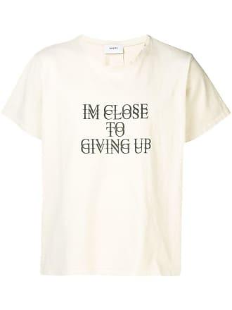 Rhude Camiseta Suicide - Neutro