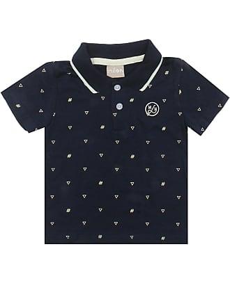 712b307eab Milon Camisa Polo Milon Manga Curta Menino Azul-Marinho