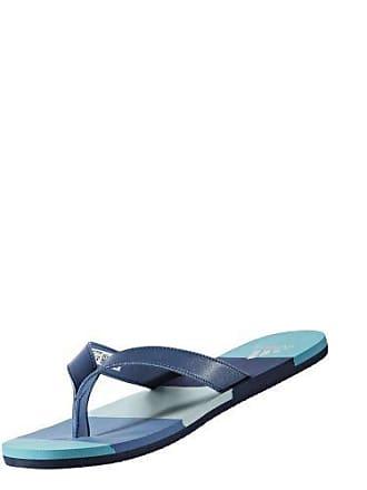 outlet store 2a045 ec21a adidas Herren Eezay Striped Zehentrenner, Blu (AzubasAzumisVertac), 46